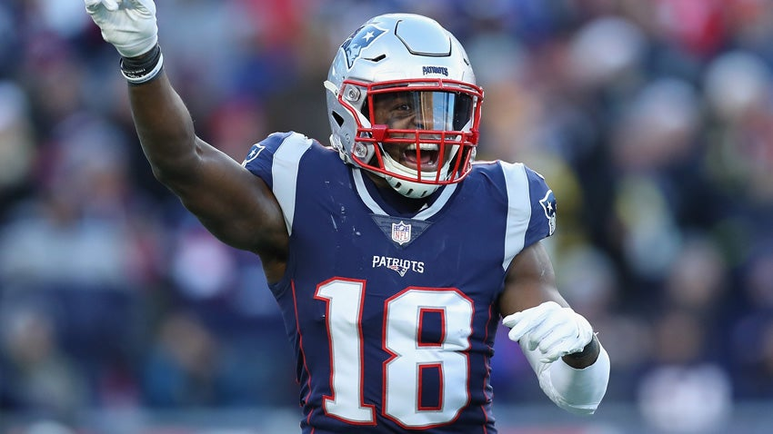 1e80409cf Matthew Slater's Hall of Fame father didn't want him to play football |  Boston.com
