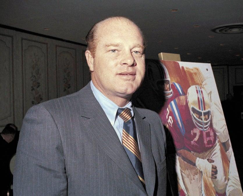 Clive Rush 1970 Boston Patriots