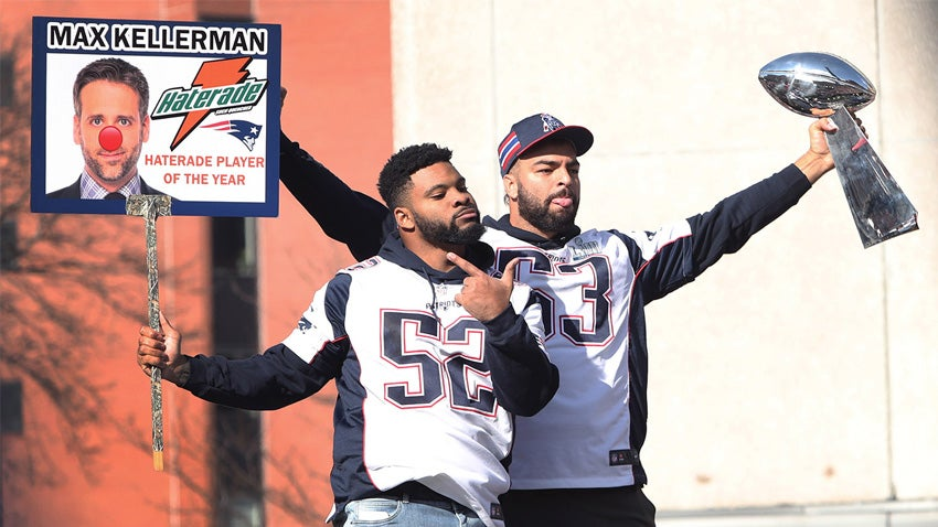 Patriots linebacker Kyle Van Noy went to ESPN and let Max
