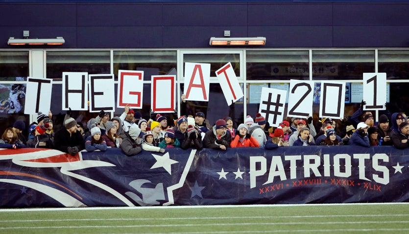 Tom Brady GOAT 201