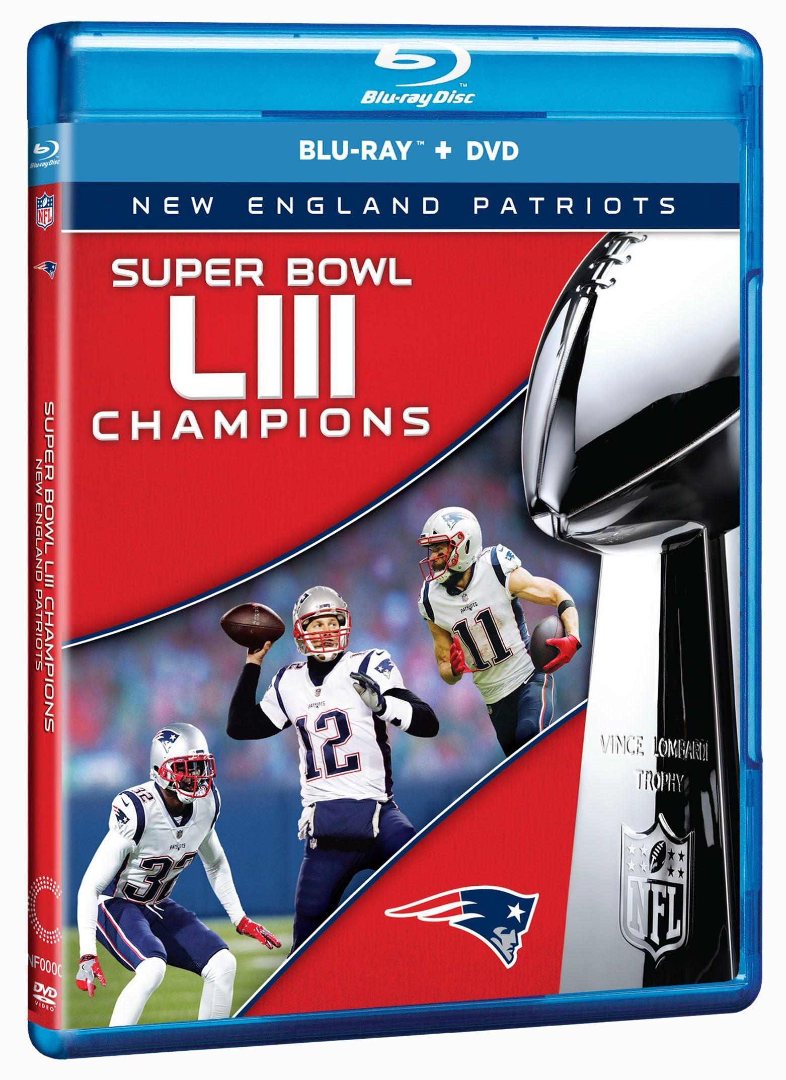 Super Bowl LIII DVD Cover