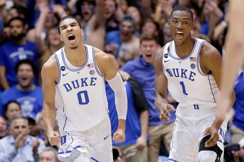 Jayson Tatum, Harry Giles, Duke, NBA
