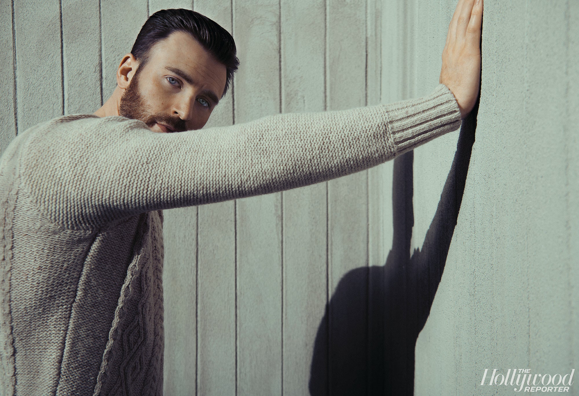 Chris Evans in The Hollywood Reporter