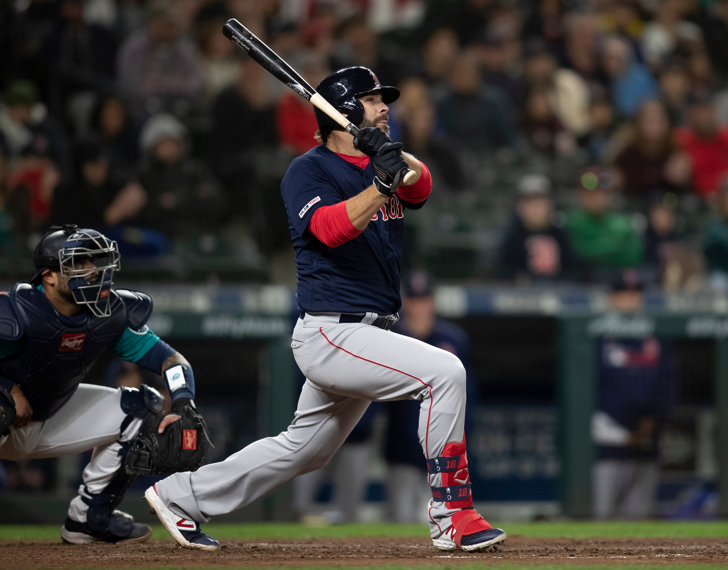 Image result for mitch moreland red sox mariners