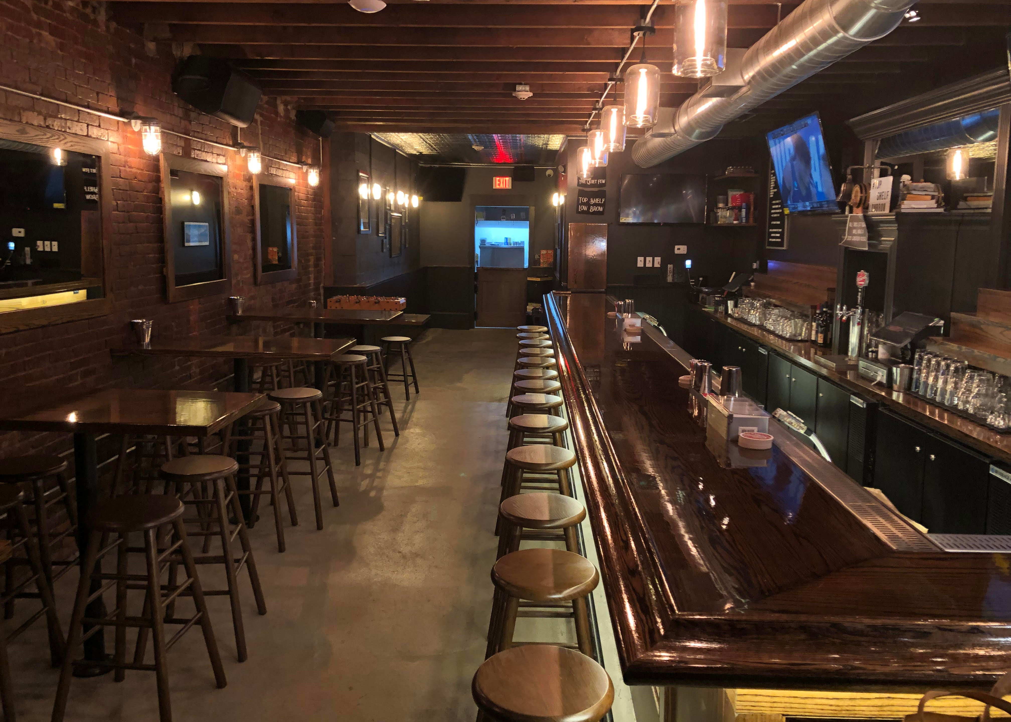 The Quiet Few will open in East Boston with whiskey and