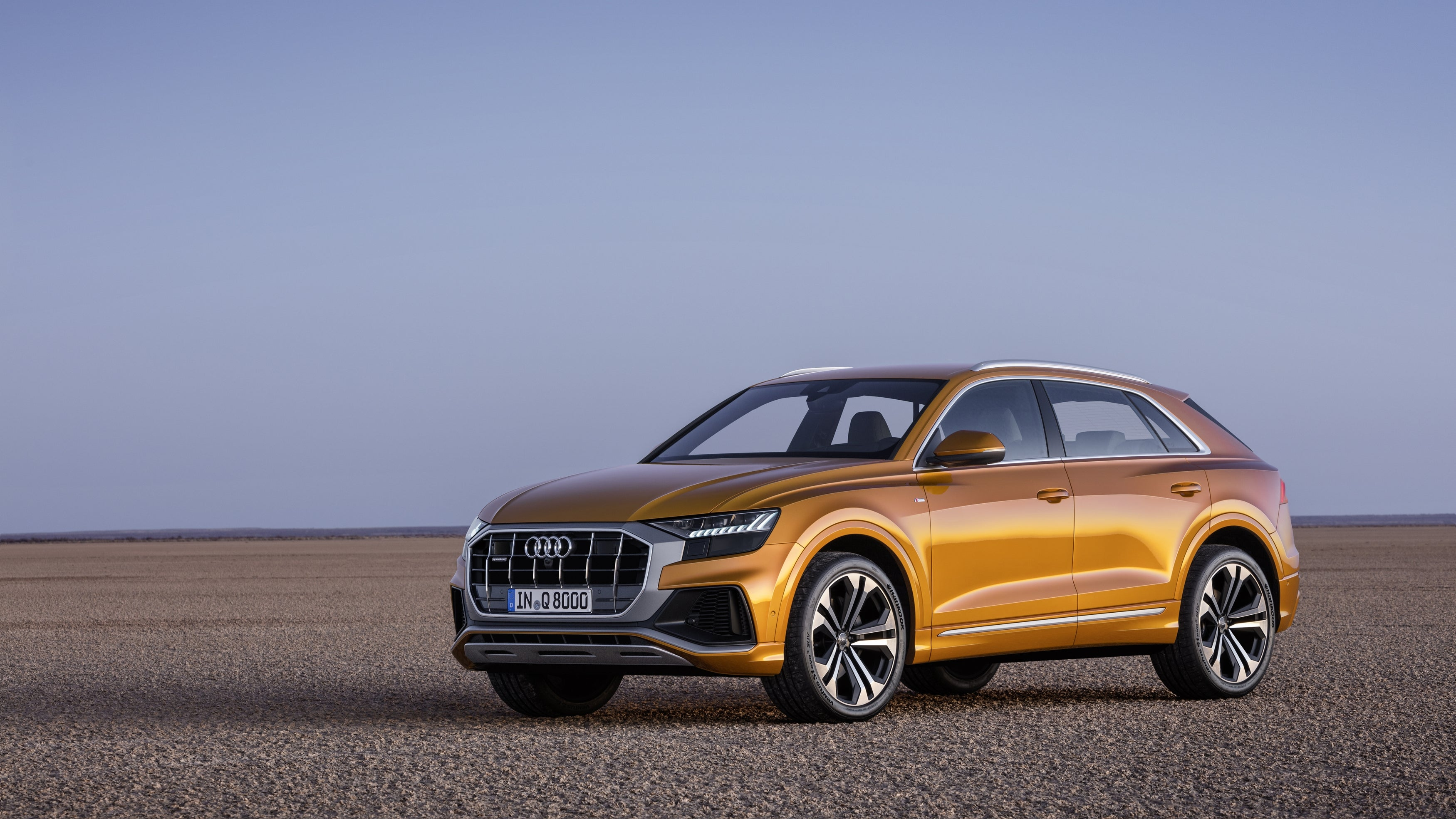 The Audi Q8 has design touches from the storied Audi Quattro rally car.
