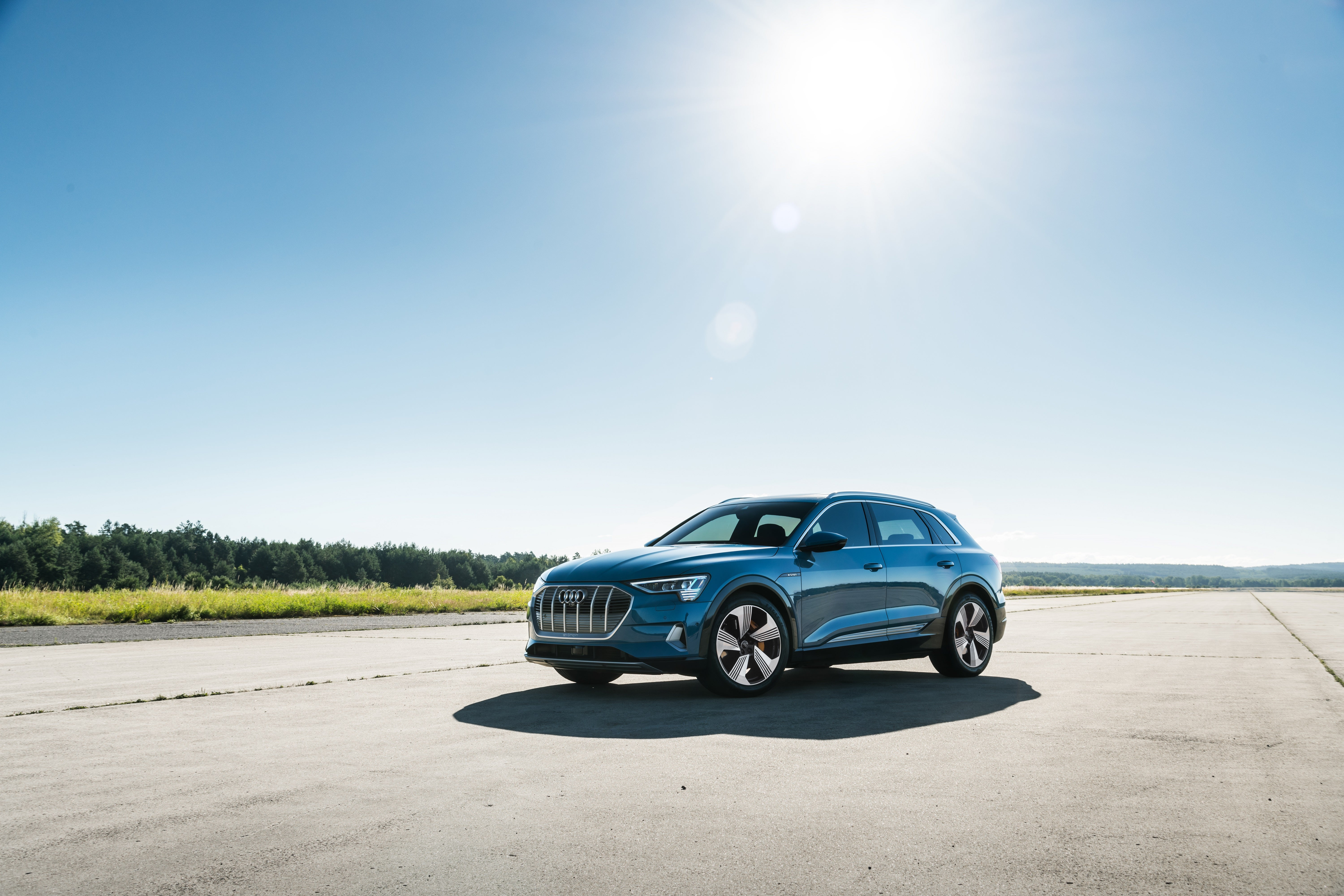 The all-new 2019 Audi e-tron electric SUV.