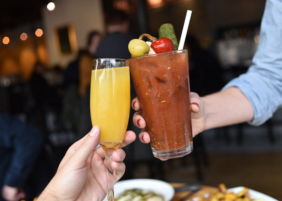 Bloody Mary at Tip Tap Room
