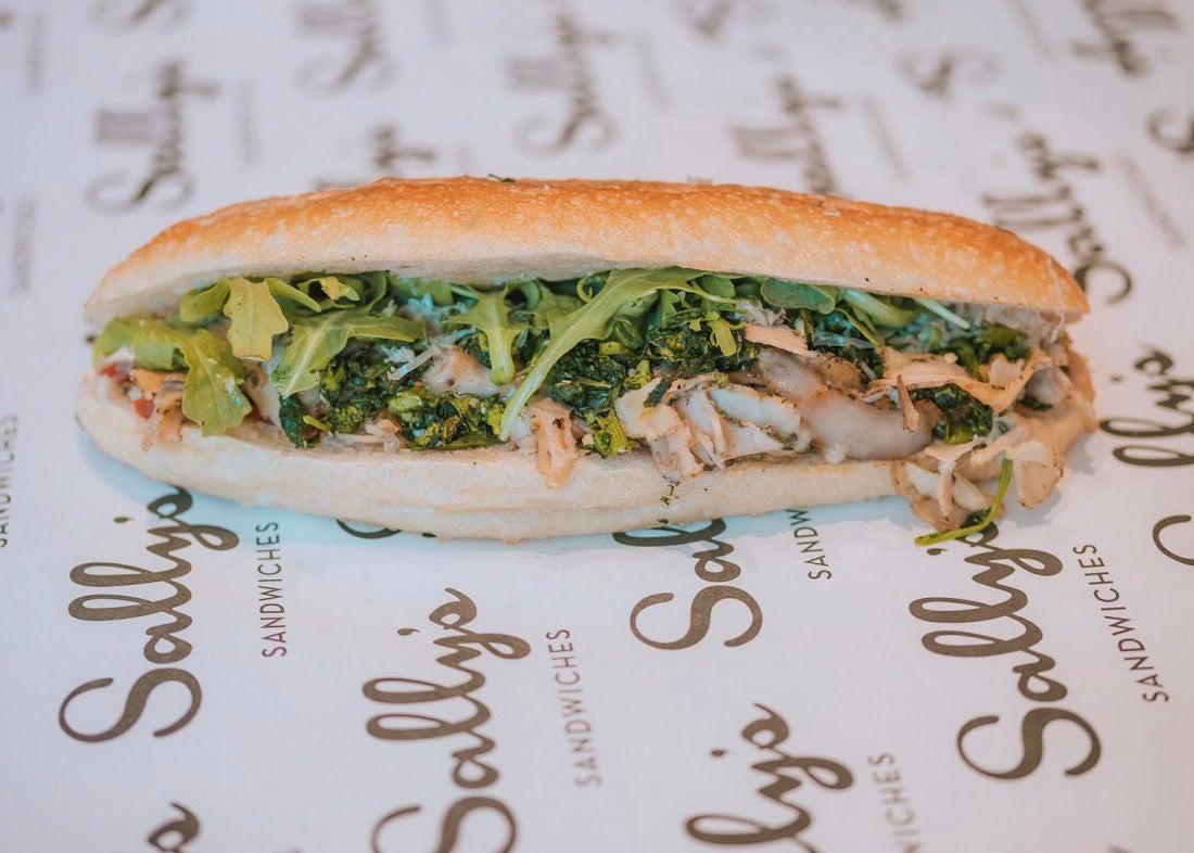 Porchetta sandwich at Sally's Sandwiches