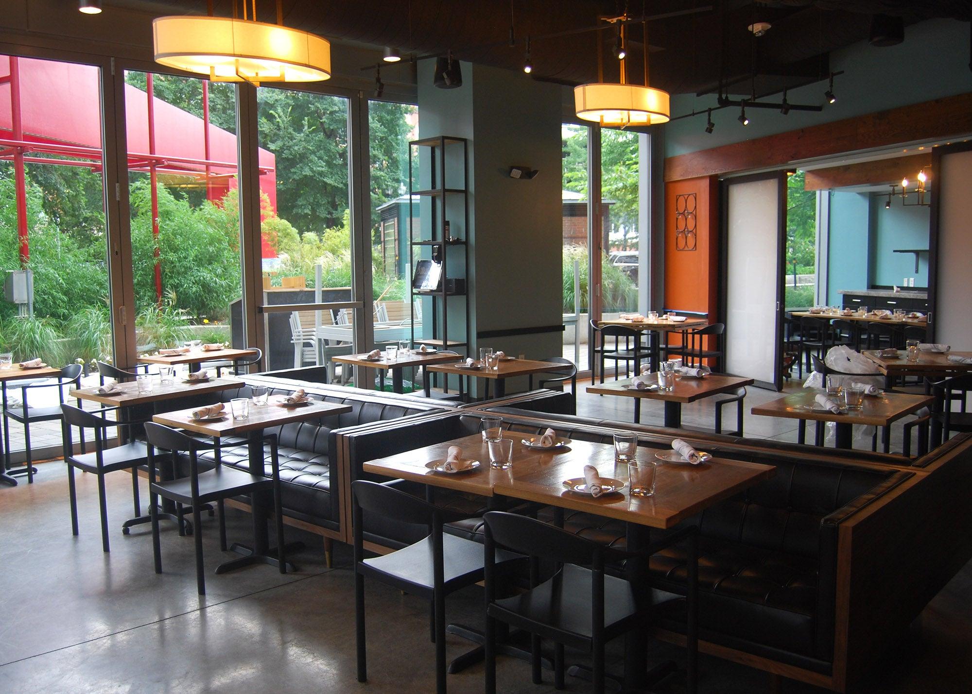 The dining room at Stillwater