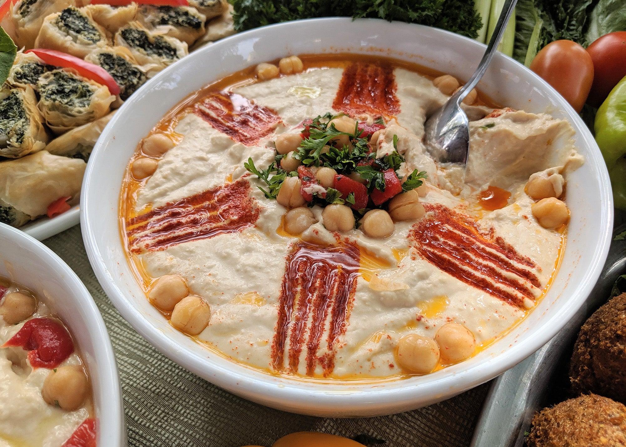 Hummus from Noujaim's Mediterranean Foods at The Big