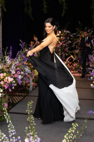 Red Sox wives and girlfriends hit the runway – for a cause