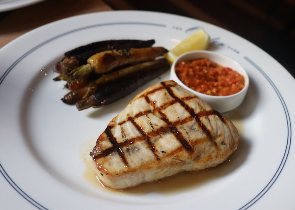 Swordfish at The Oyster Club