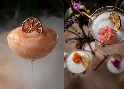Cocktails at Mariel