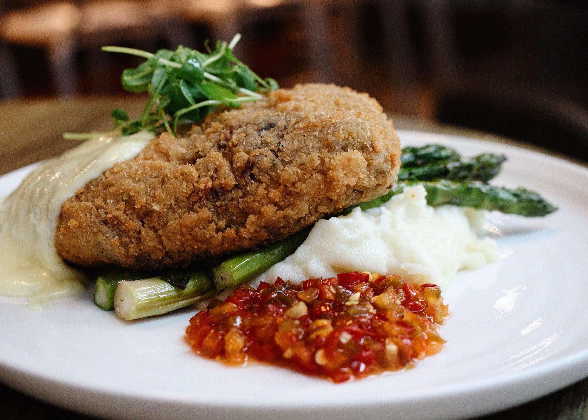 Chicken fried ribeye at Stillwater