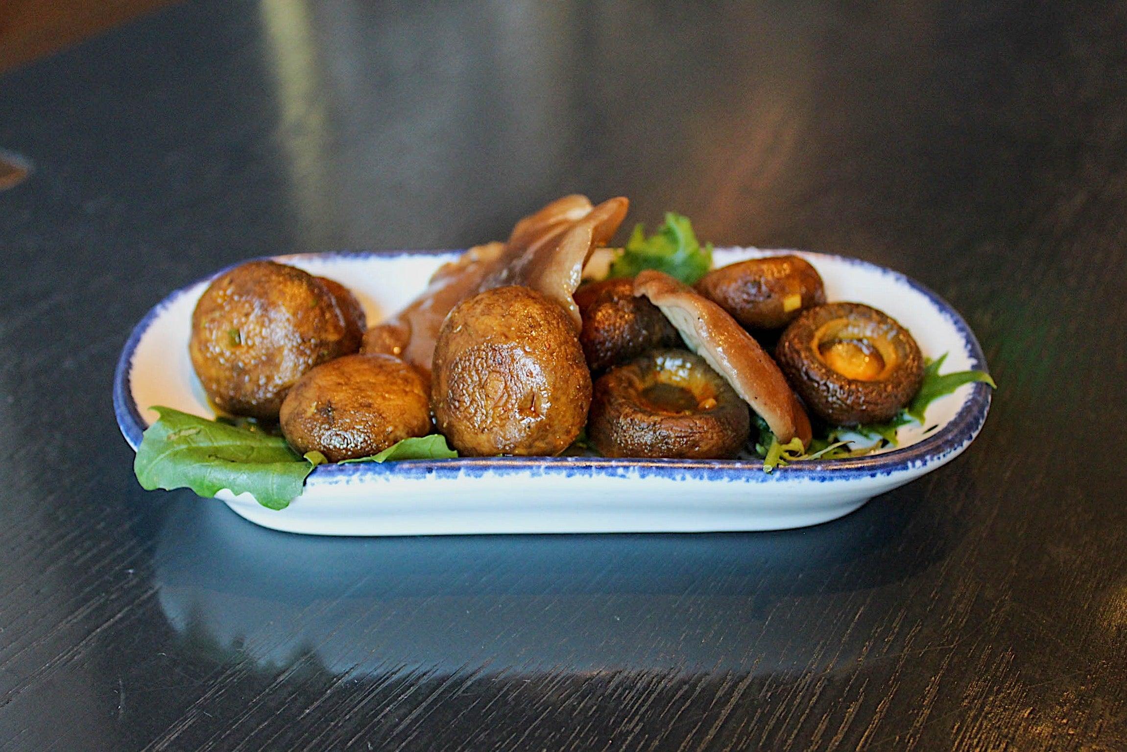 Mushrooms from Peregrine