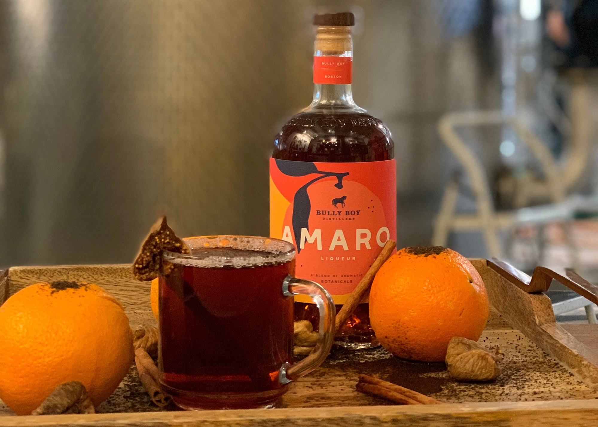 Bully Today, Drink Amaro at Bully Boy Distillers