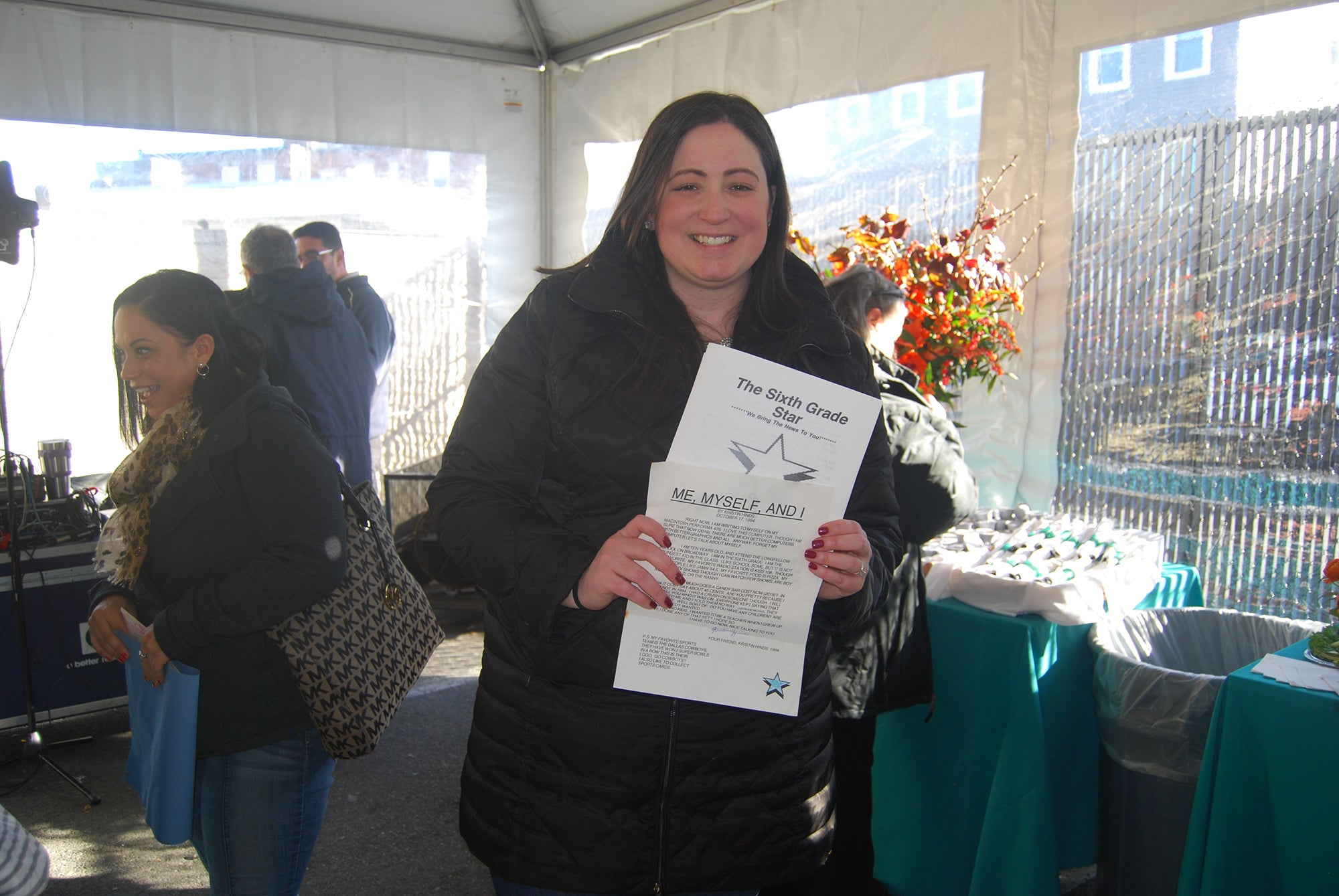Kristin Medeiros at S&S