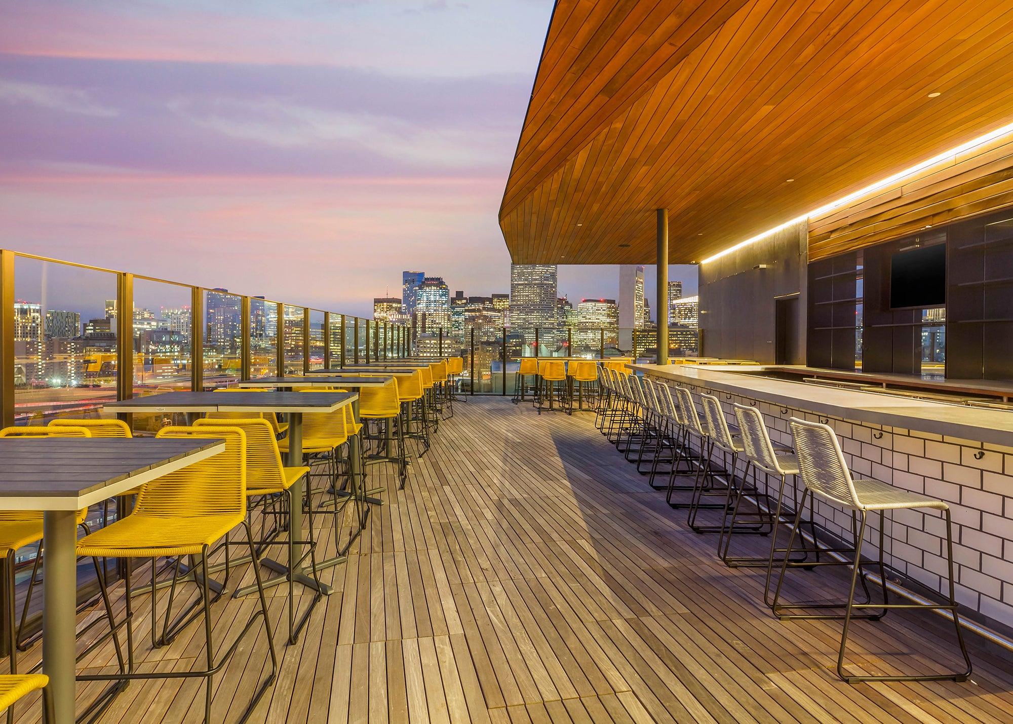 Six West rooftop bar