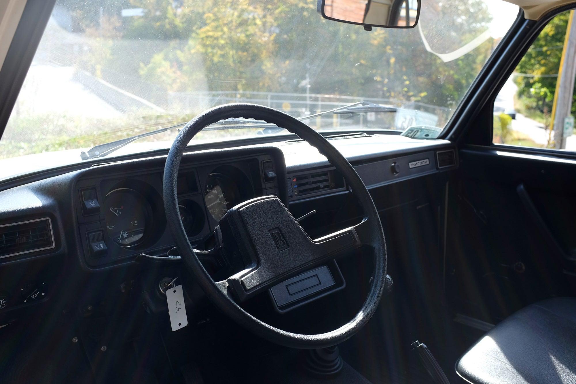 Lada VAZ 2105 interior
