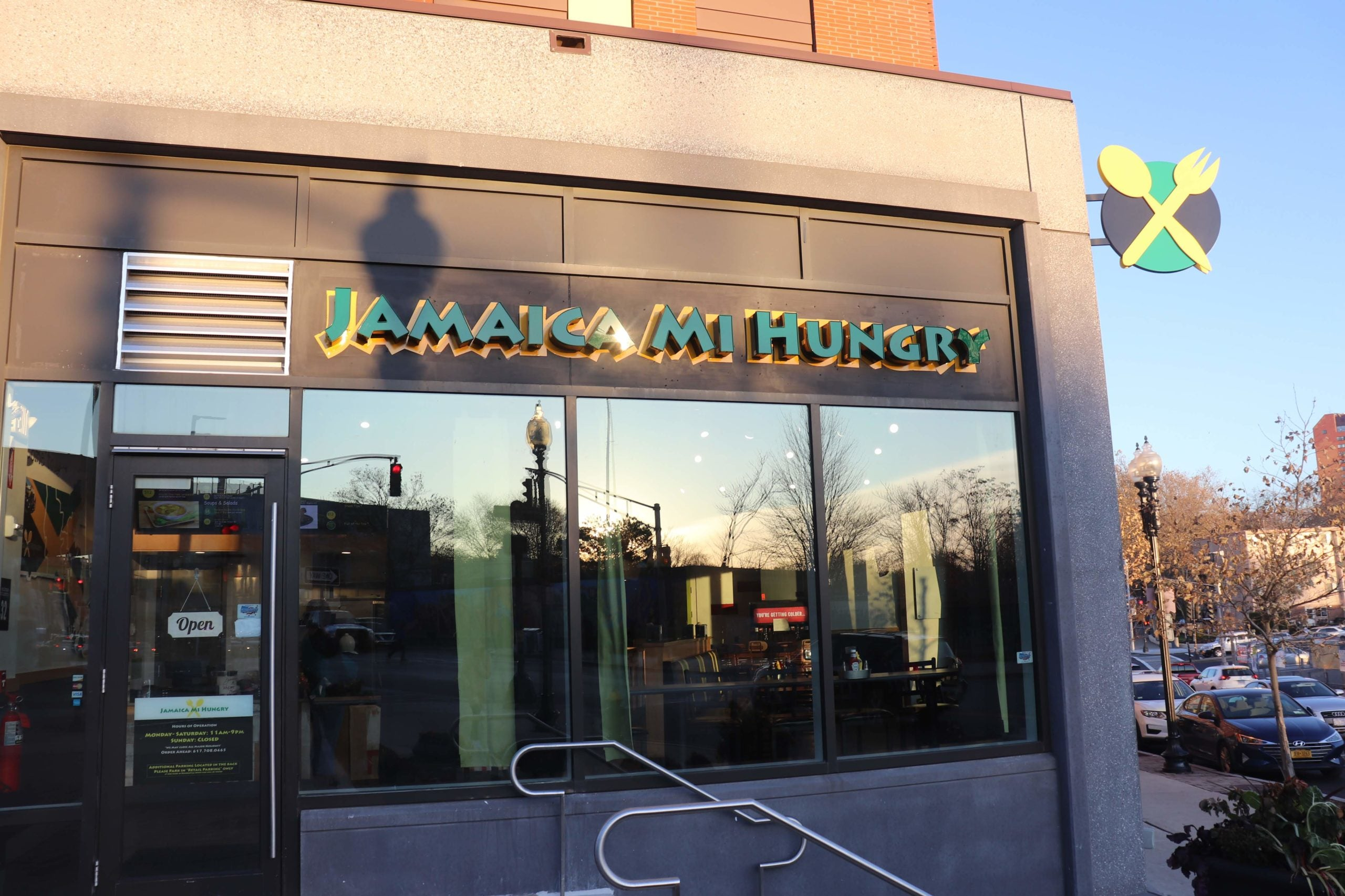 Jamaica Mi Hungry exterior