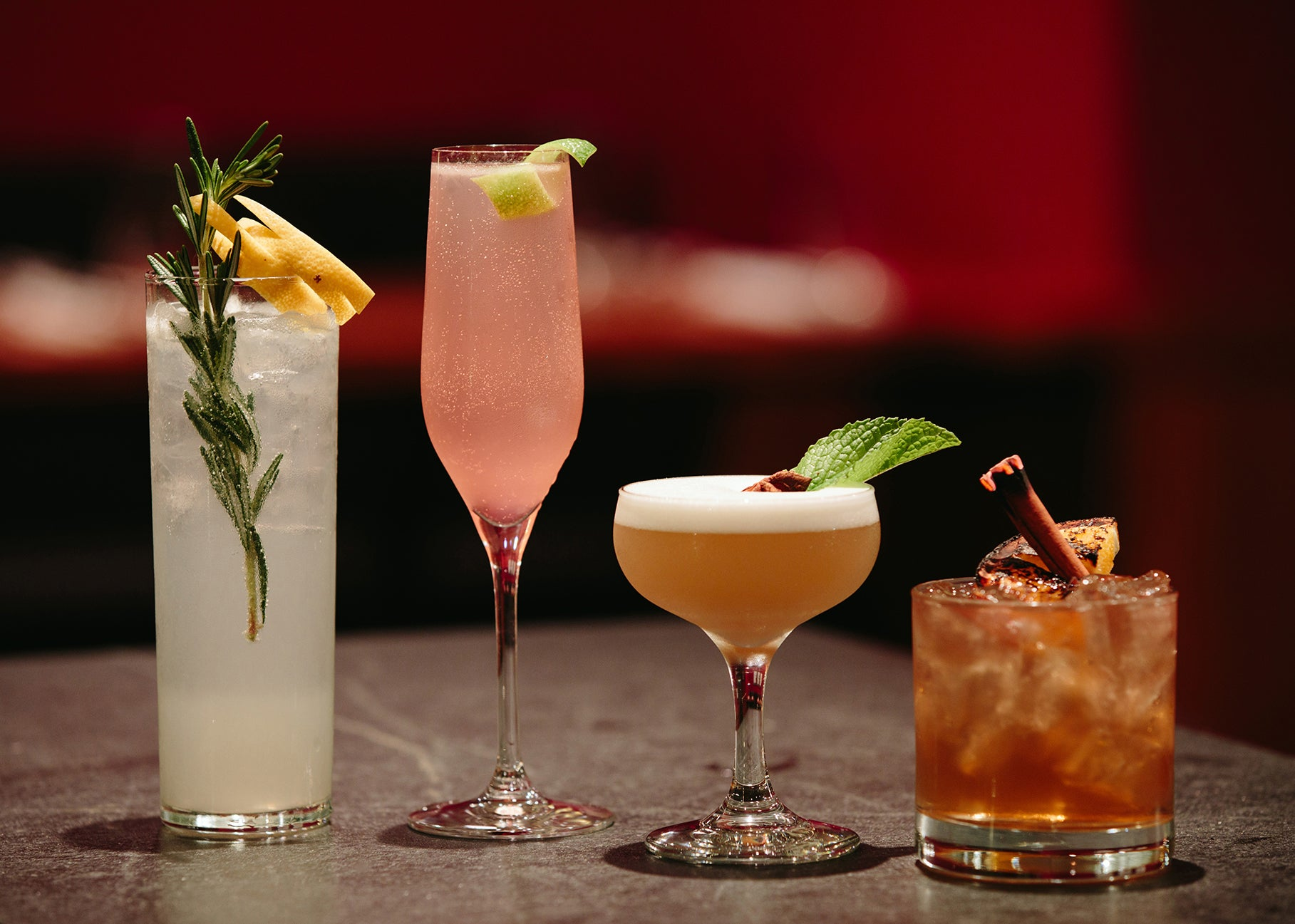 Cocktails at Mooncusser Fish House