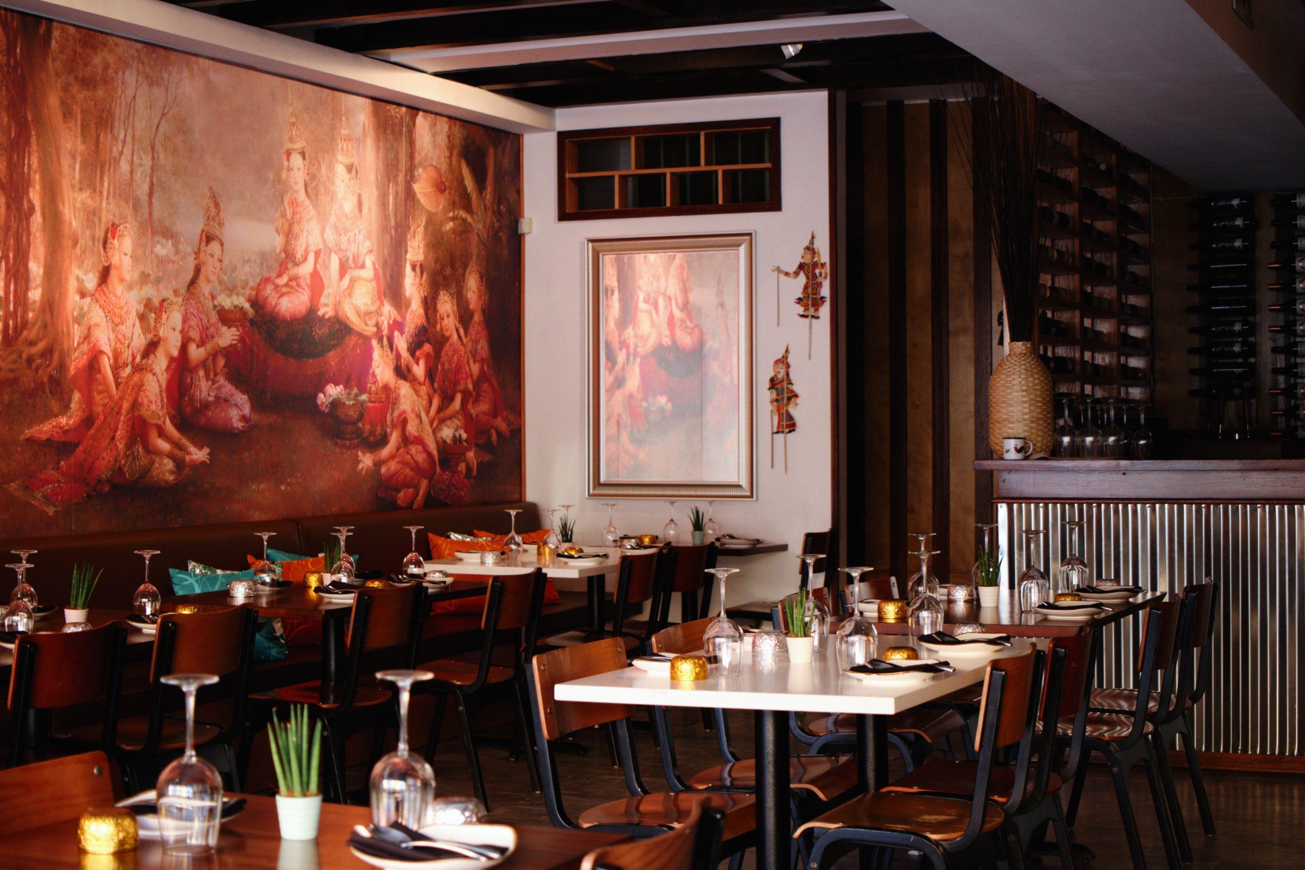 Chalawan restaurant interior