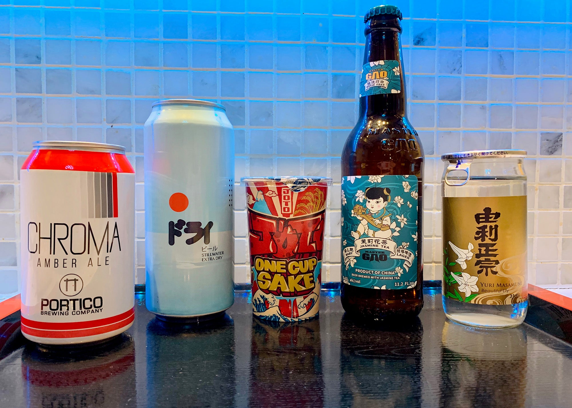 A selection of new drinks at Ruckus