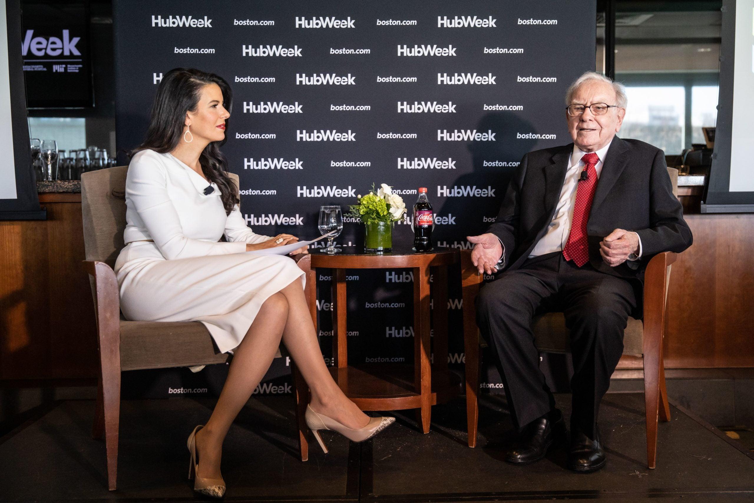 Linda Henry and Warren Buffett