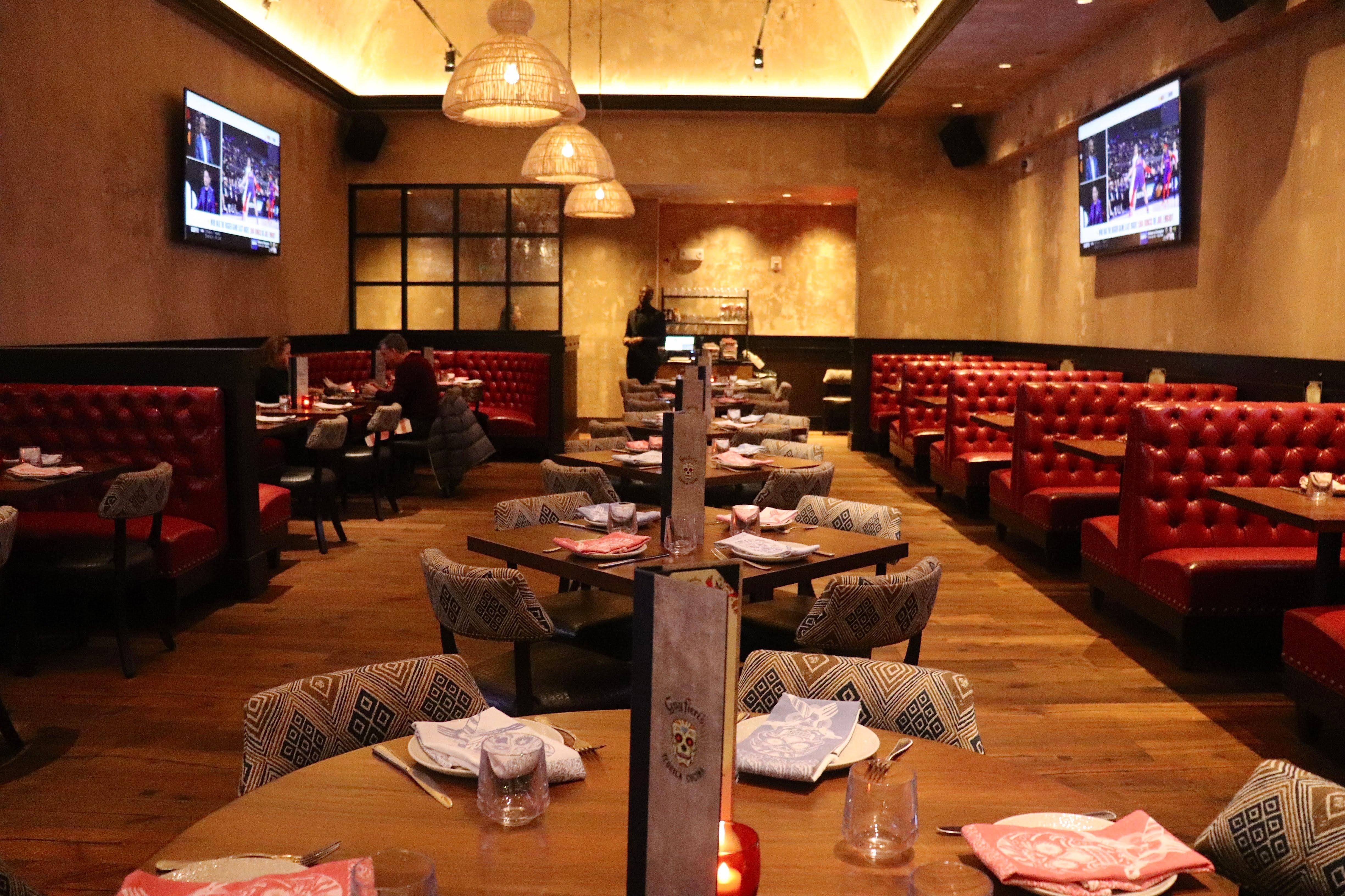 Guy Fieri's Tequila Cocina dining area