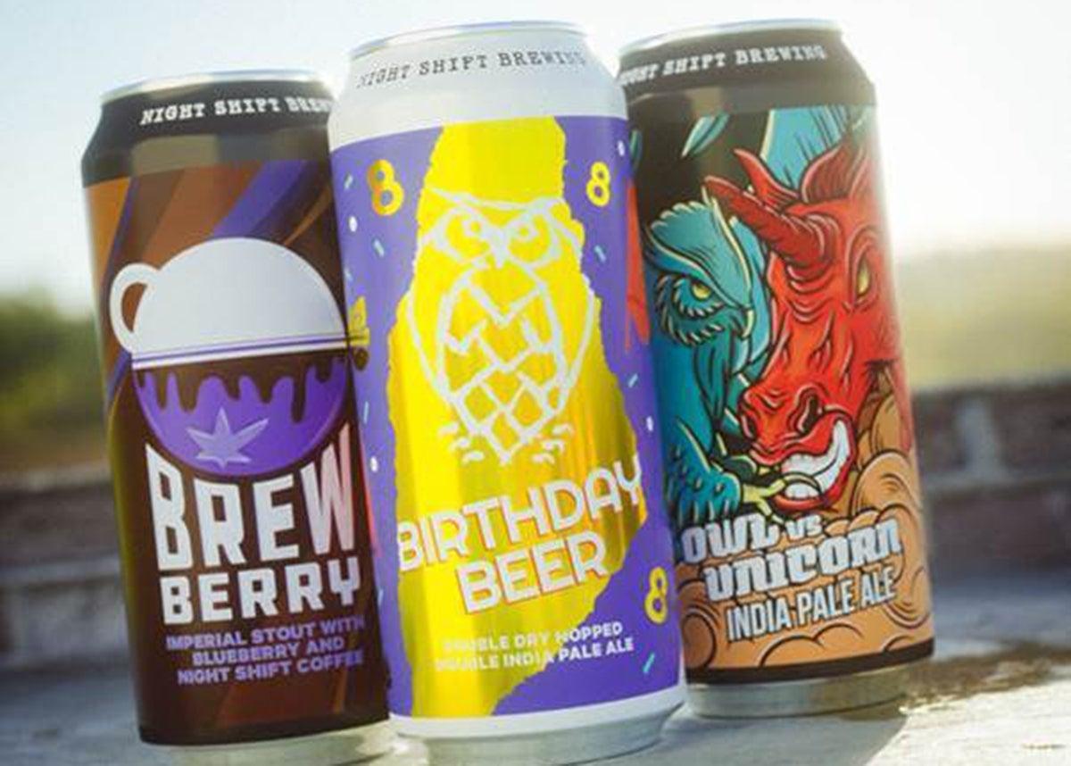 Birthday Beer from Night Shift Brewing