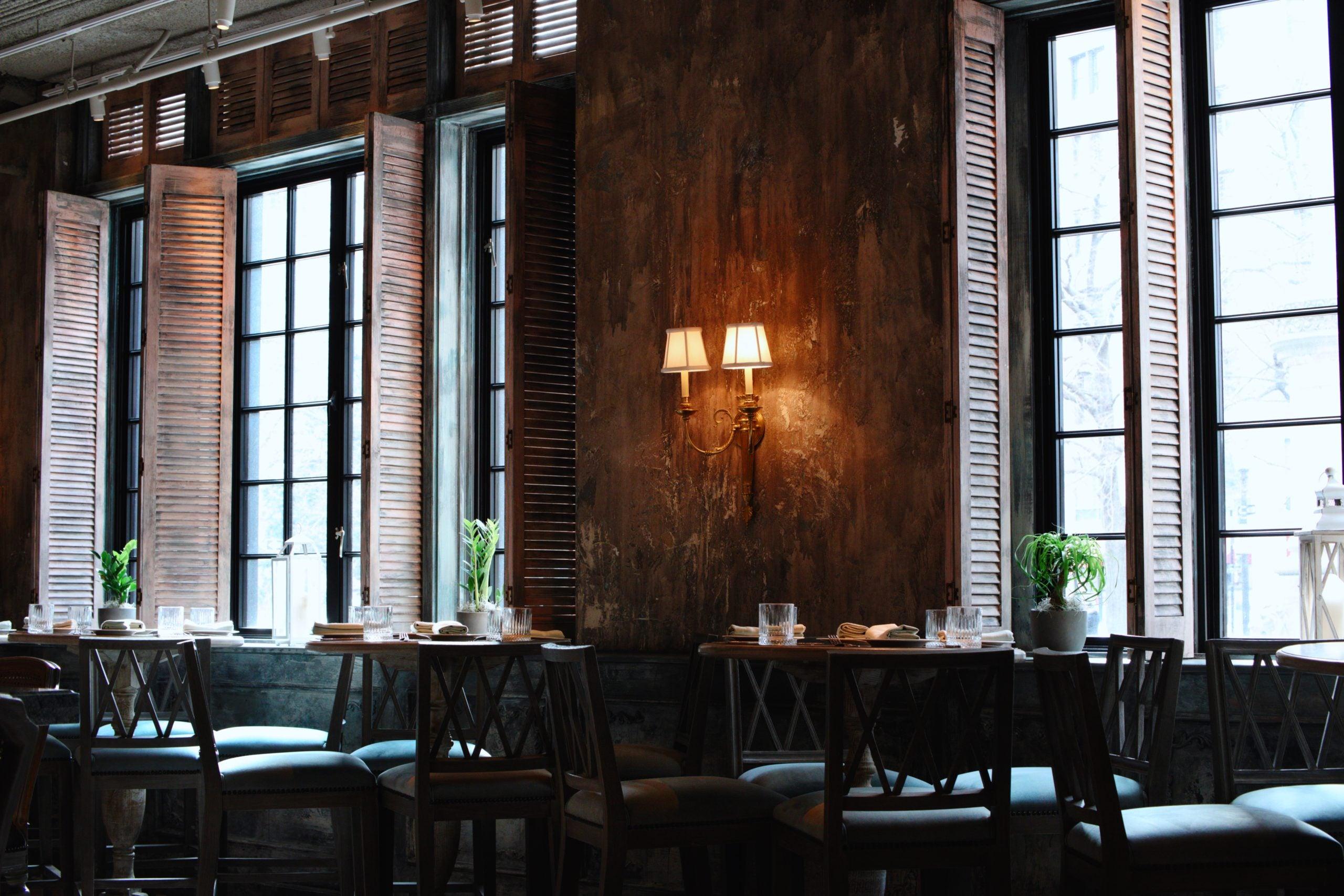 Mariel restaurant interior