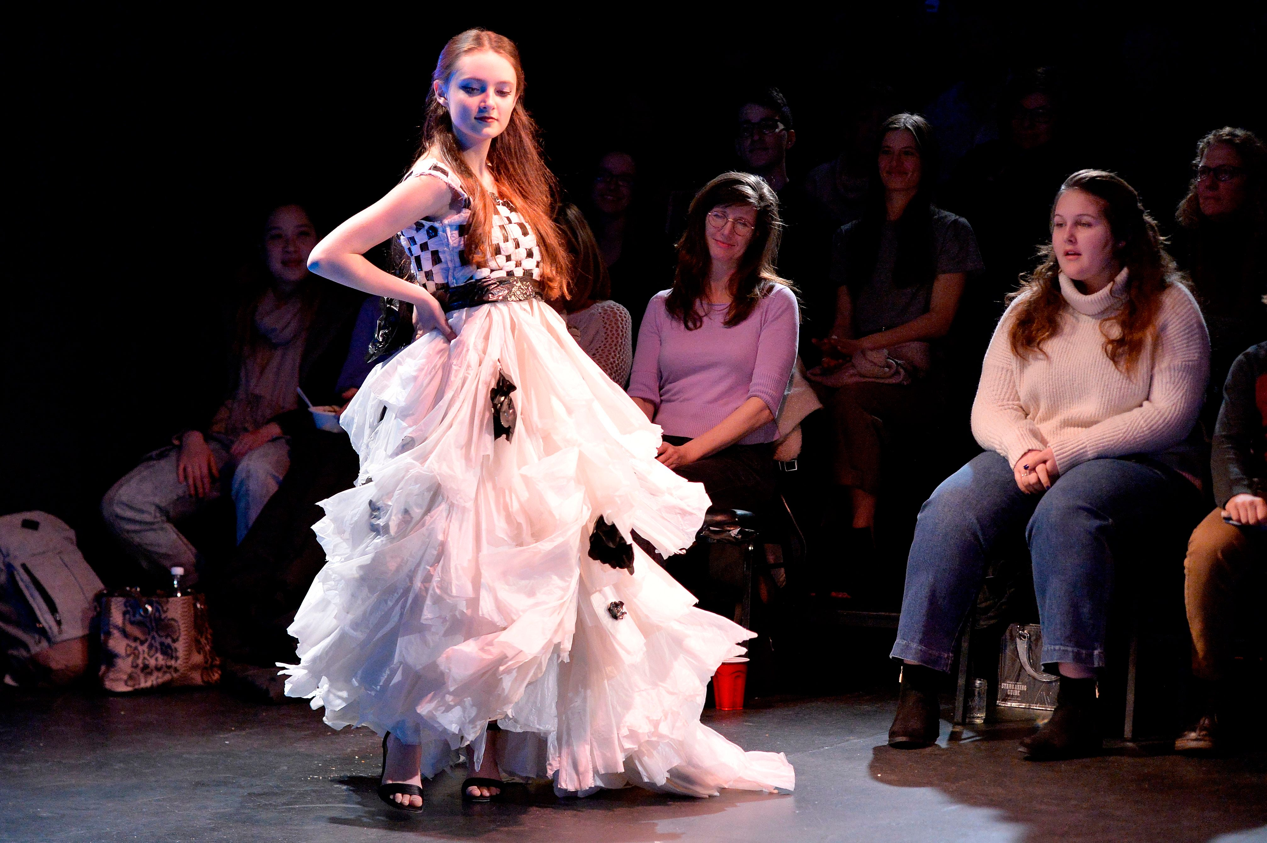 23 Trashy Looks Served At Rubbish To Runway Fashion Show Boston Com