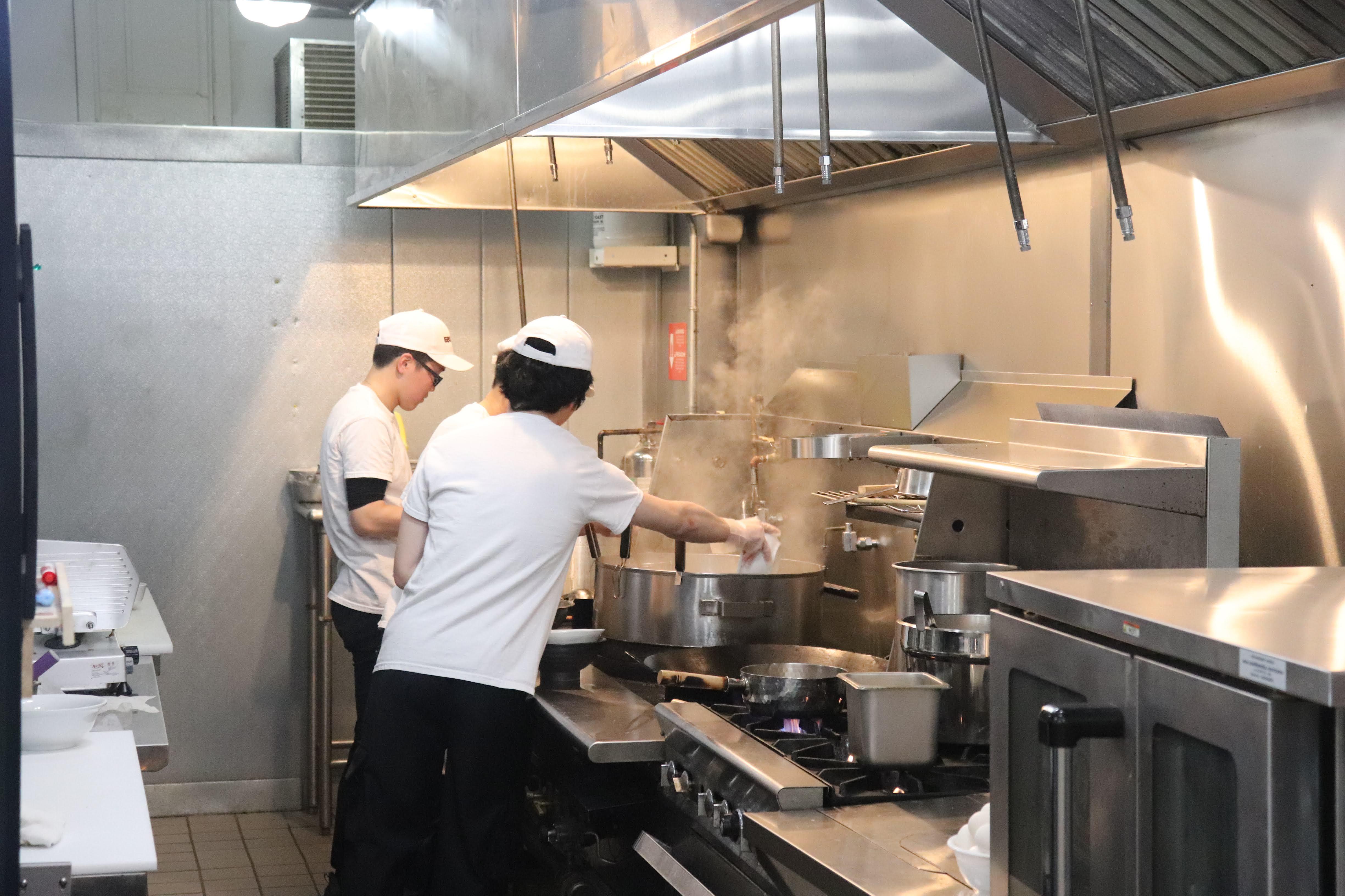 Ebisuya Noodle kitchen