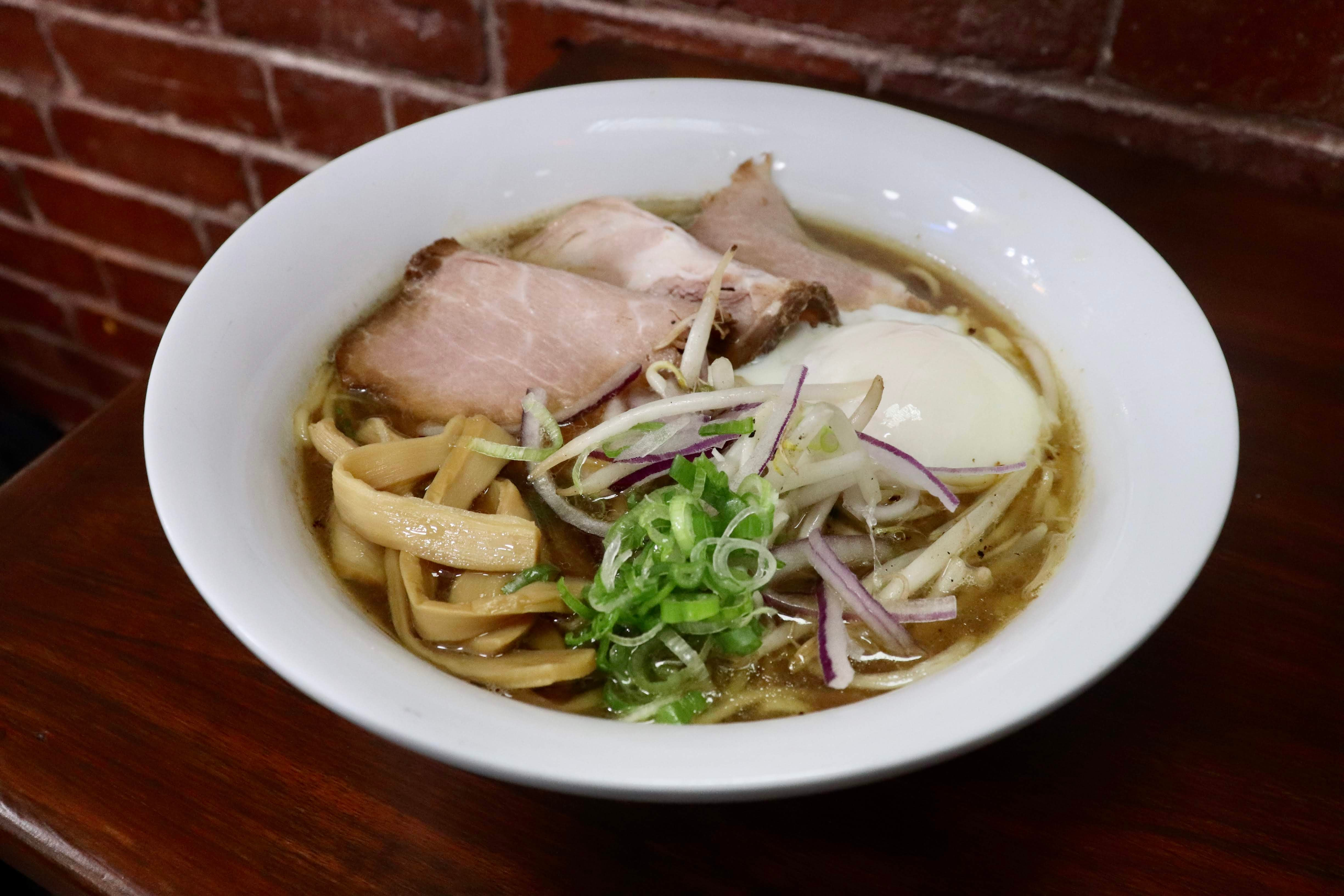 Shoyu ramen at Ebisuya Noodle