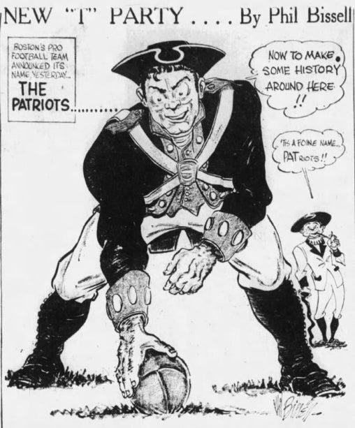 The original Pat Patriot