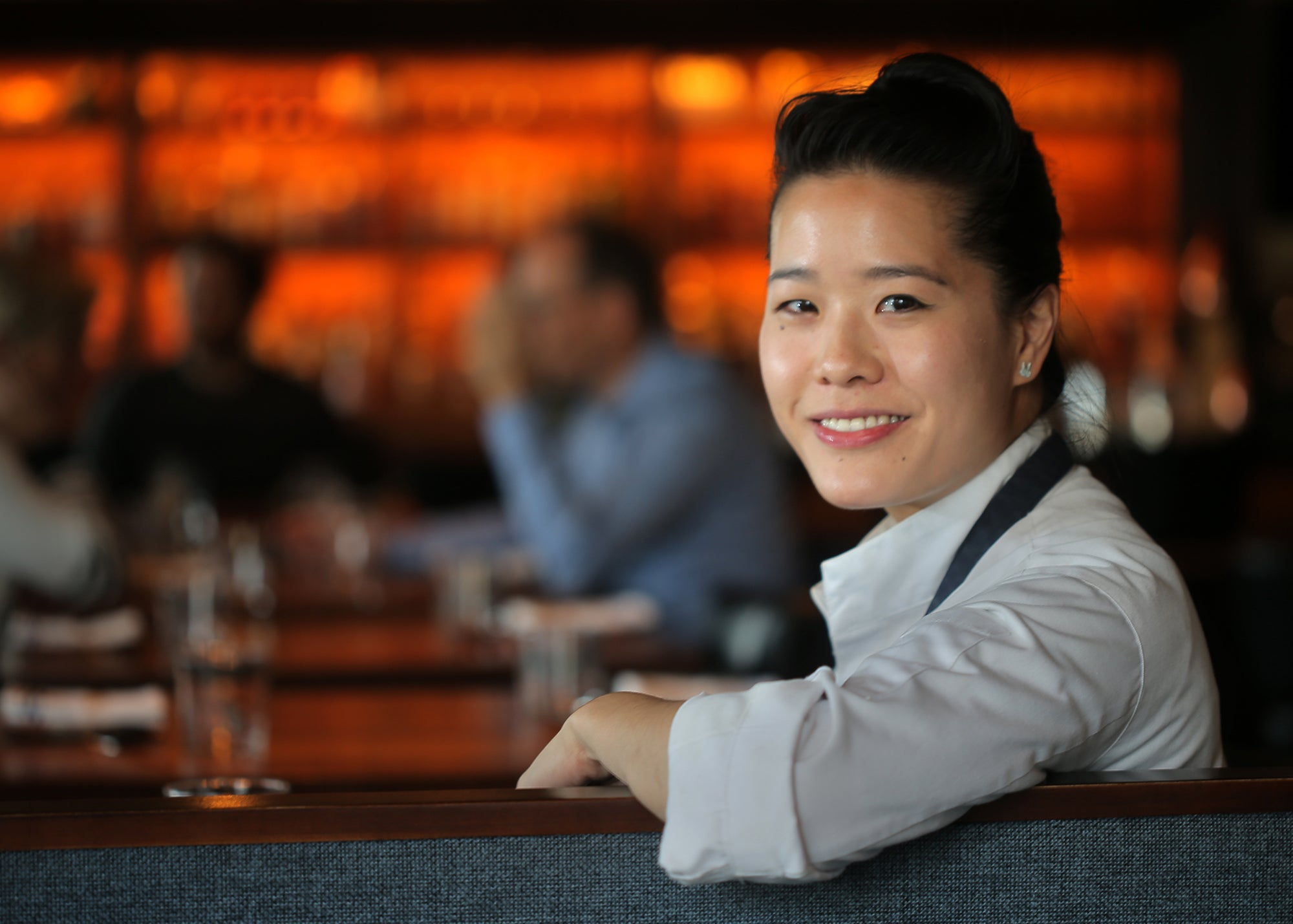 Chef/owner Tracy Chang at Pagu in Central Square