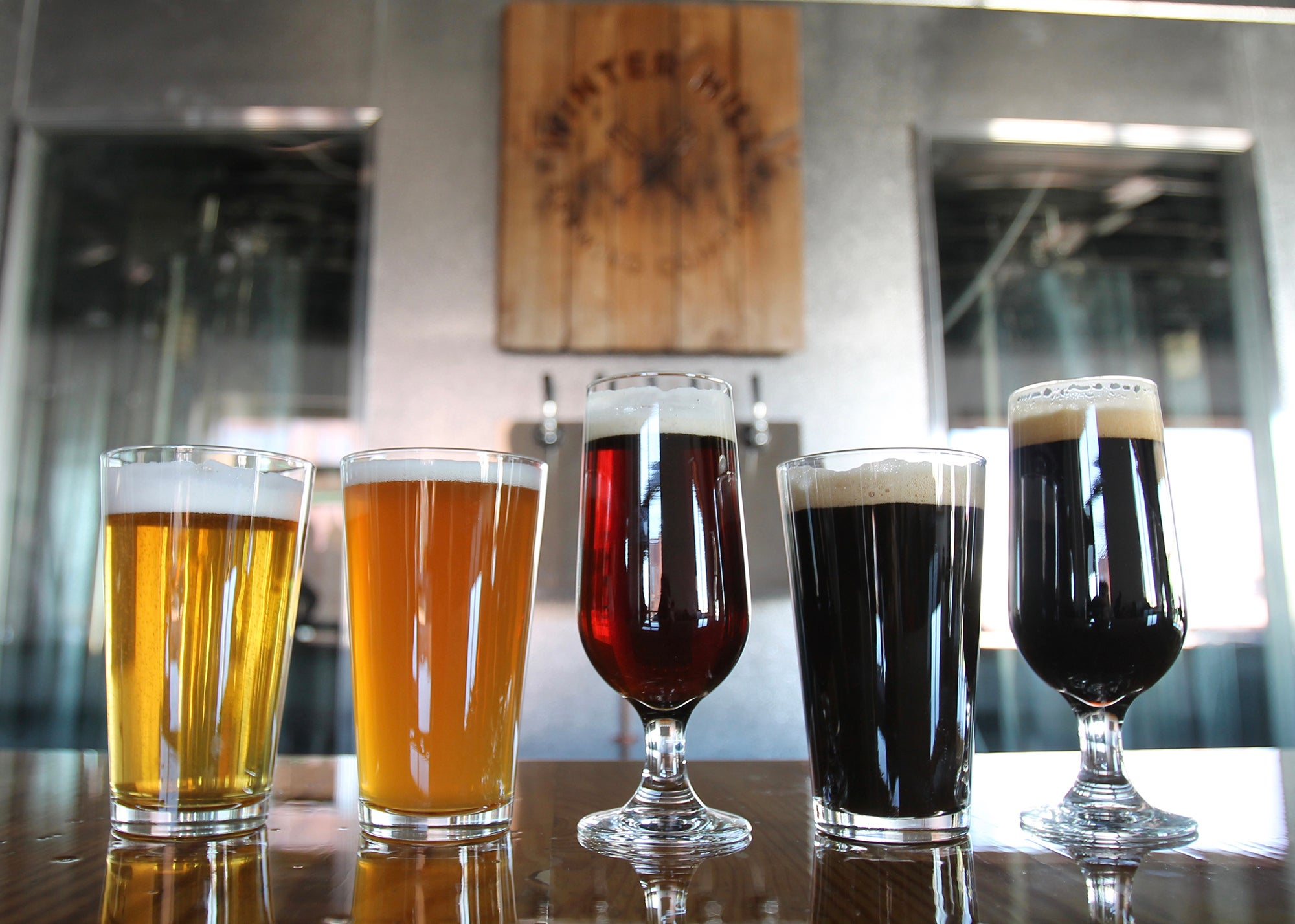 Winter Hill Brewing Company in Somerville