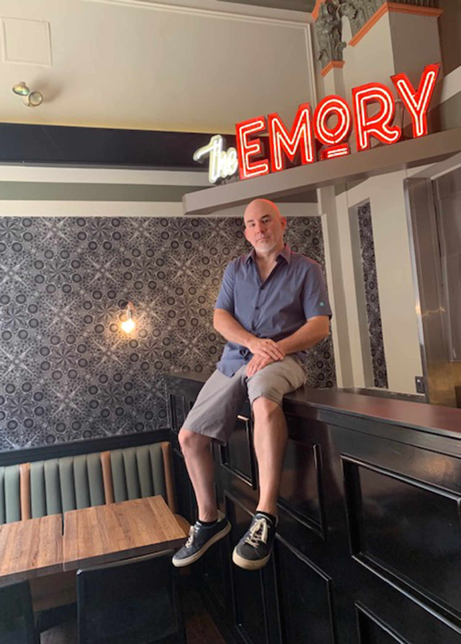 Andy Kilgore, owner of The Emory