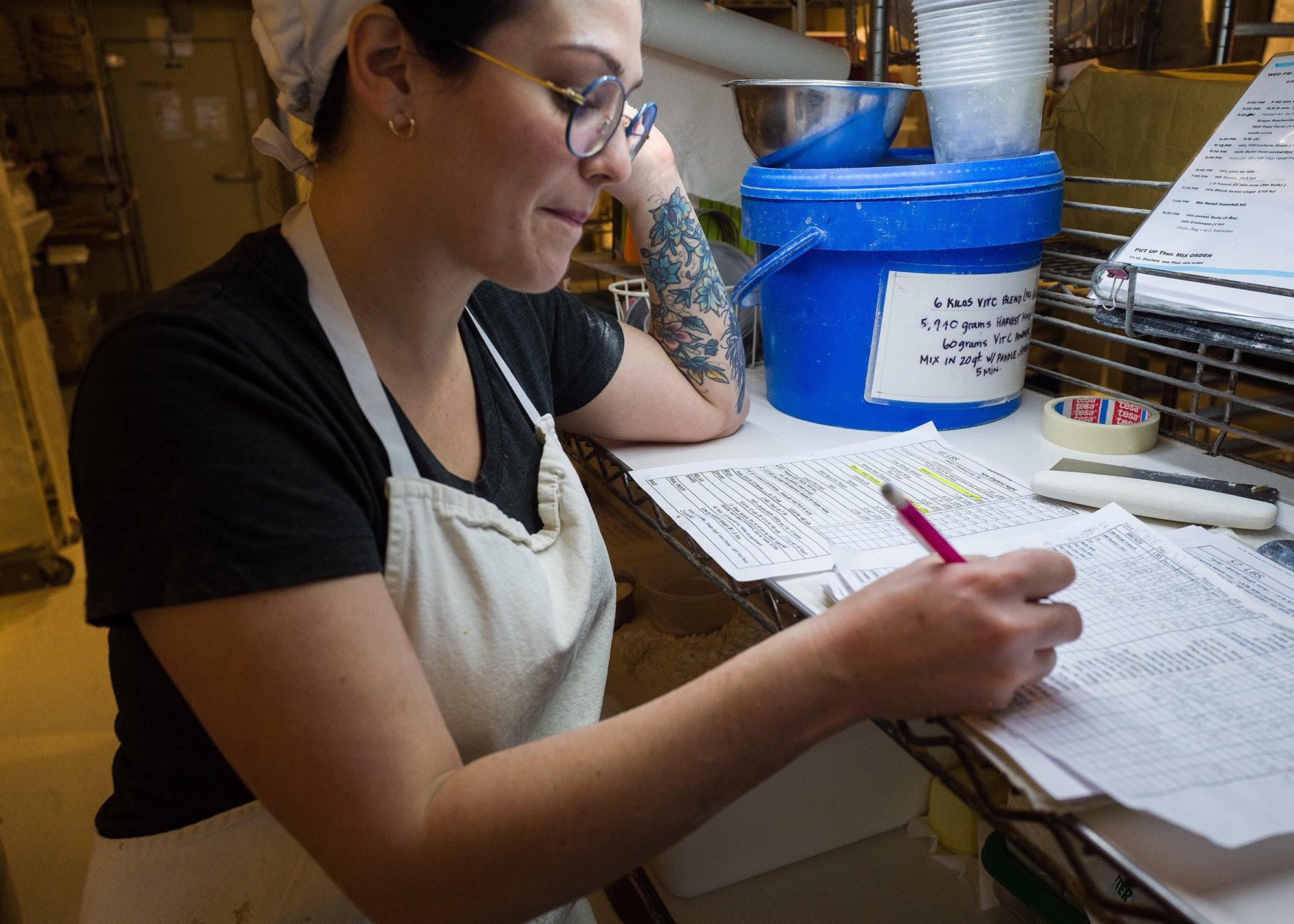 Nicole Walsh at Clear Flour Bread