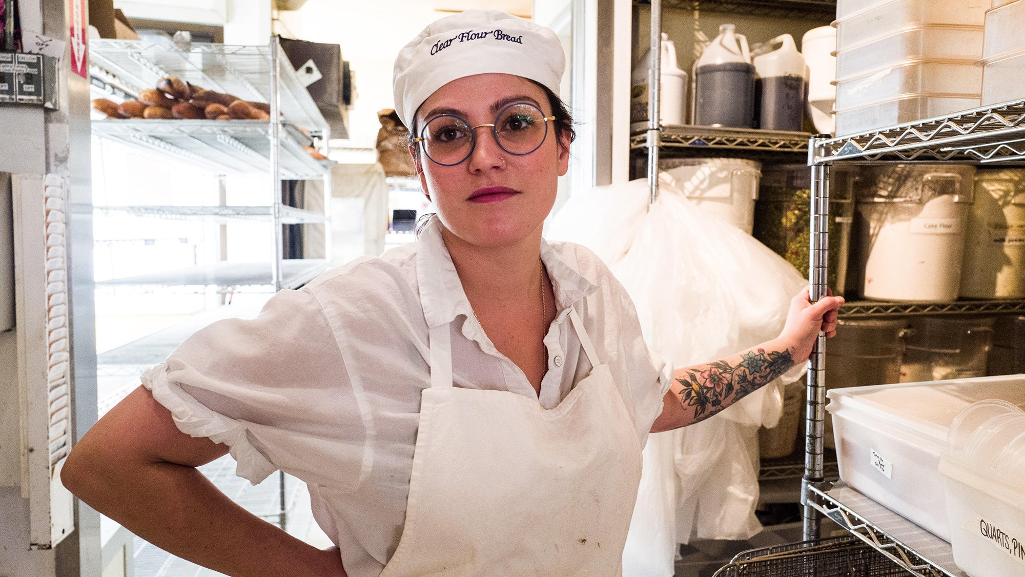 Clear Flour Bread co-owner Nicole Walsh
