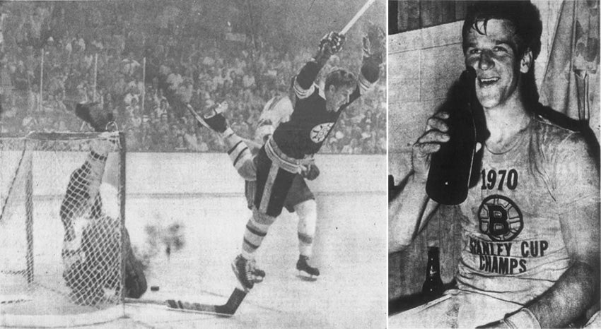 Bobby Orr 1970 Stanley Cup