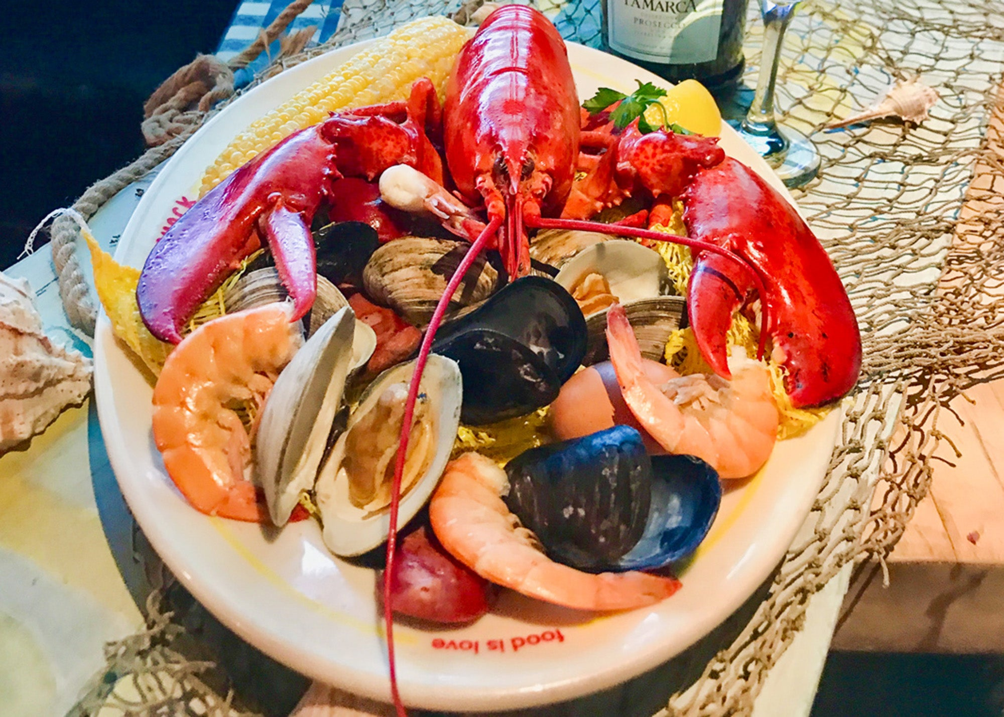 Lobster clambake special at Summer Shack