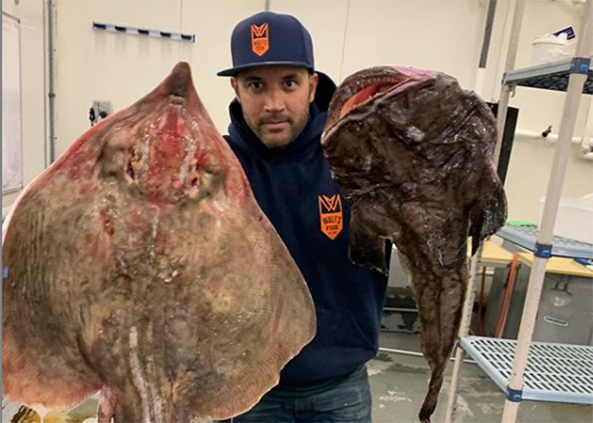 Bala Paiva, head fish cutter at Wulf's Fish