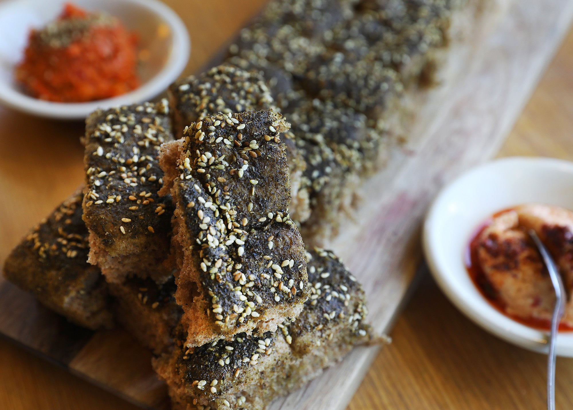 Za'atar Bread at Sofra Bakery & Cafe