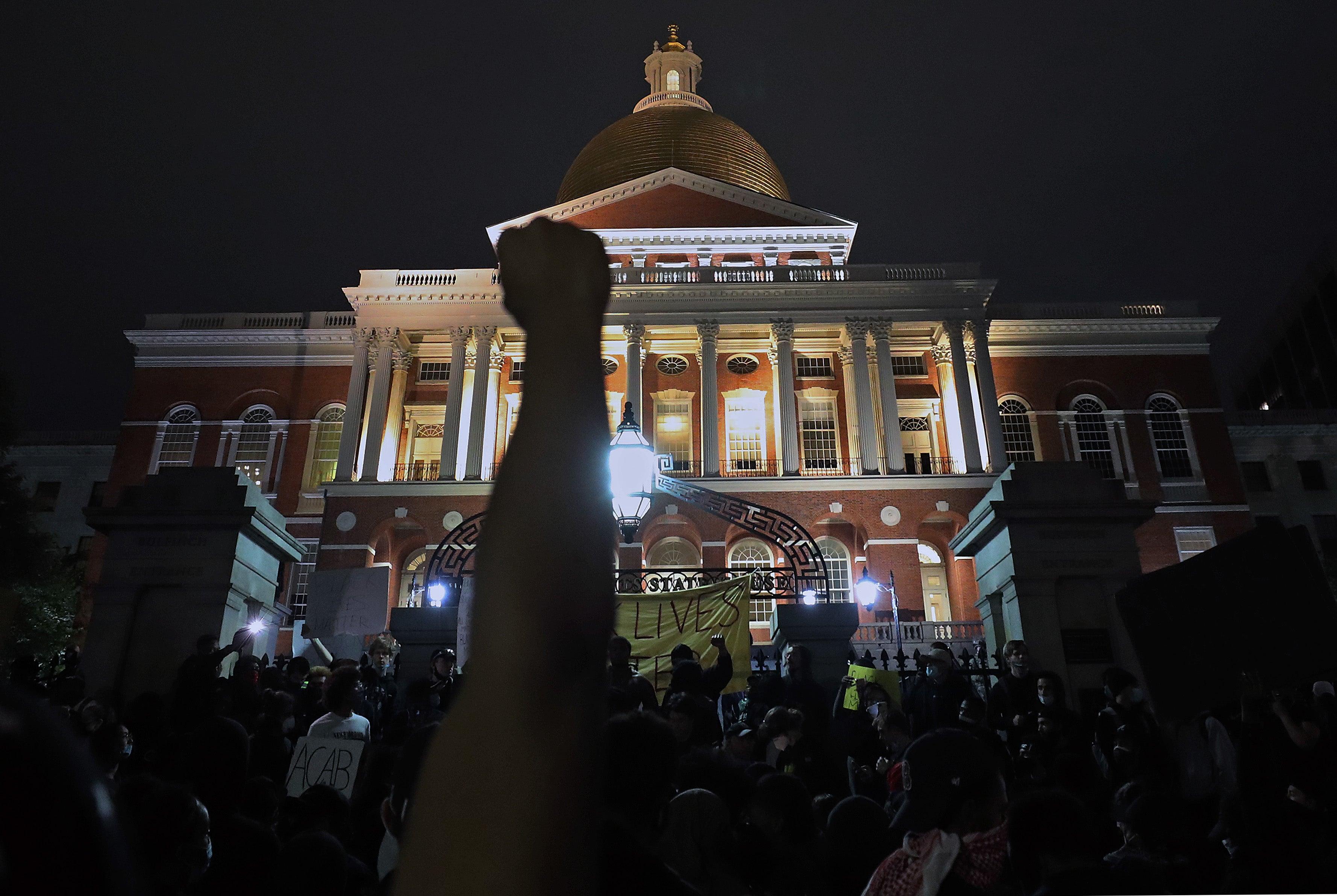 boston protest