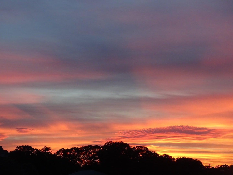 Sunset from Wareham