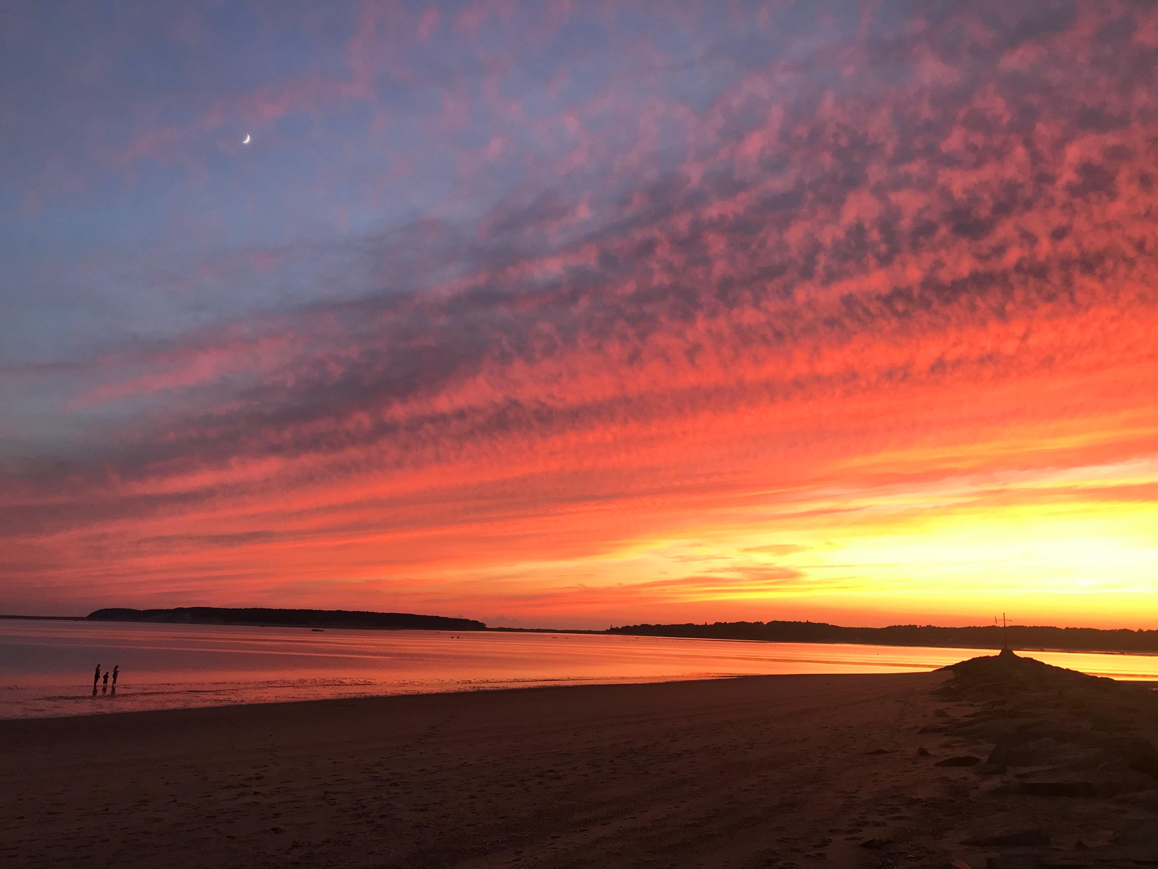 Wellfleet Cape Cod sunset