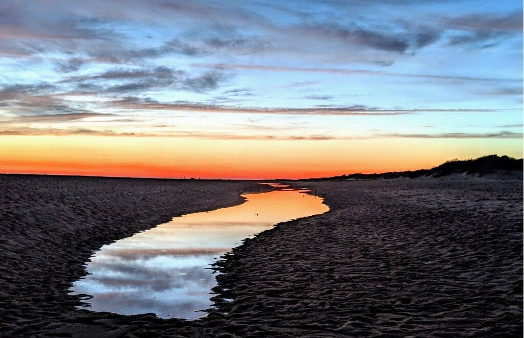 Herring Cove at sunset