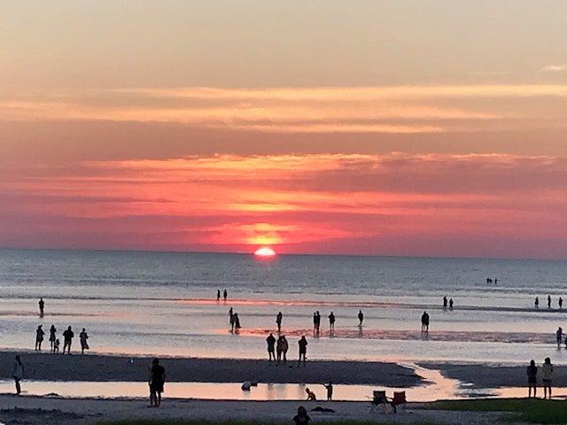Sunset at Skaket beach
